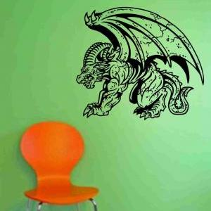 Gargoyle Version 103 Decal Sticker ..