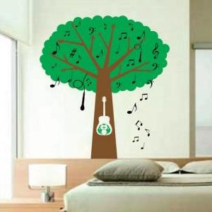 Musical Tree with Guitar Handle Bra..