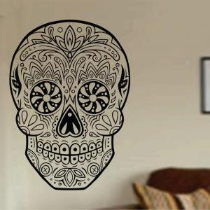 Sugar Skull Version 20 Wall Vinyl D..