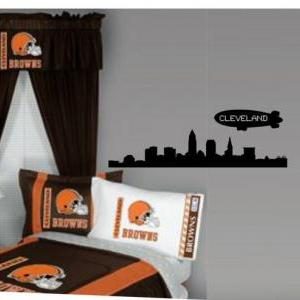 Cleveland City Skyline Decal Sticke..