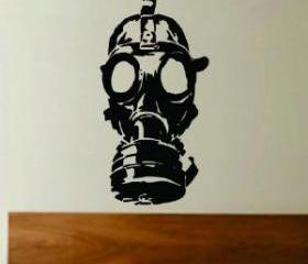 Gasmask Decal Sticke..