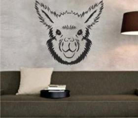 Alpaca Face Sticker ..