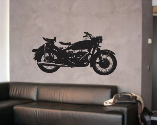 Harley Motorcycle Wall Decal Sticker